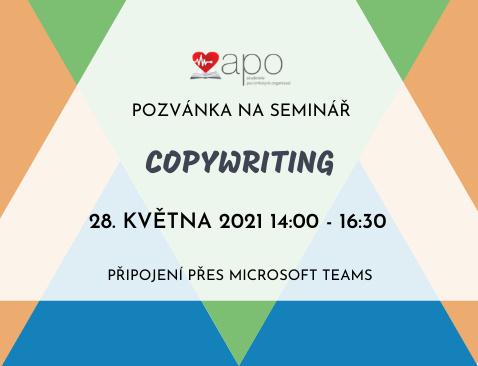 Aktuality/Copywriting - pozvánka
