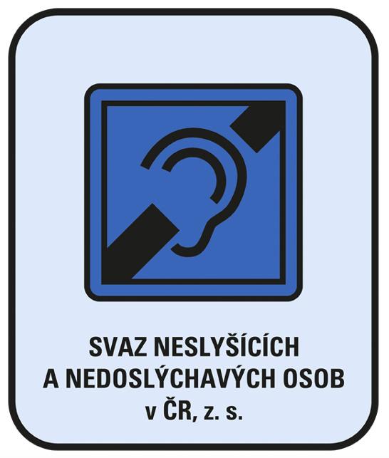 Loga PO/Svaz neslyšících - logo