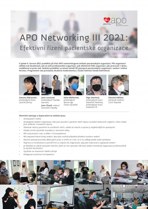 červen/APO Networking - report