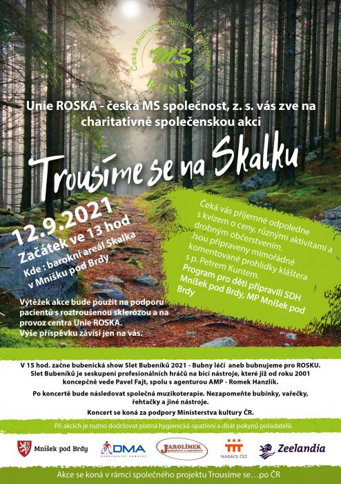 září/Unie ROSKA - Plakat Trousime se na Skalku